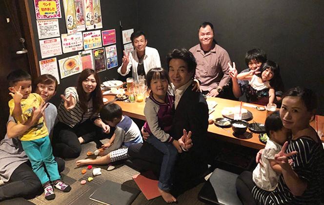 【食事会の様子】